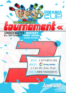Pirania Cup Invitation